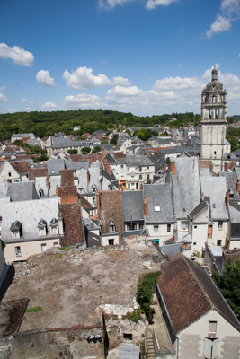 Loches in the Loire valley